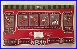 Season's Eatings Christmas Cookies 6 Pins MICKEY MINNIE LE 1200 Disneyland WDW