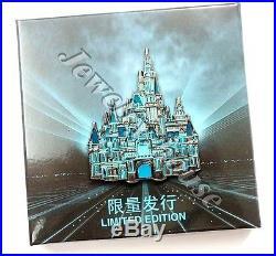 Shanghai Disneyland Tron Castle Pin Disney Grand Opening Limited to 300! Rare