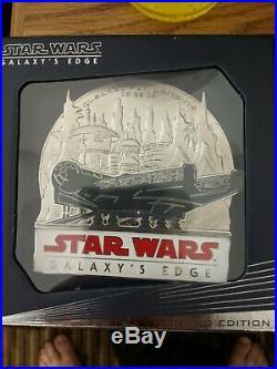 Star Wars Galaxy Edge Walt Disney World Limited Edition 1000 Jumbo Pin