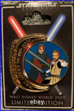 Star Wars Weekends 2009 COMPLETE set of 8 LE 1000 Symbols pin collection