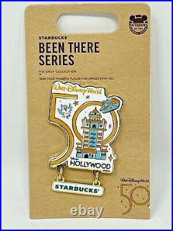 Starbucks Disney Parks WDW 50th Anniversary Pin Set Been There Series Complete