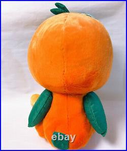 Super Rare Florida Orange Bird Jumbo Plush Goggle Japan Disney Store Figure Tag