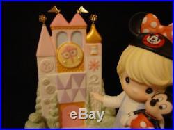 T Precious Moments-VERY RARE-Disney Theme Park Exclusive-Magic Kingdom Castle