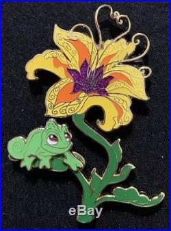 Tangled Pascal Flower Disney Fantasy Pin LE 47/50 Rare HTF Rapunzel VHTF Limited