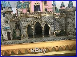 The Art Of Disney Theme Parks Larry Nikolai Sleeping Beauty castle rare