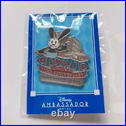 Tokyo Disney Resort Oswald 110th Anniversary Ambassador Hotel Pin limited