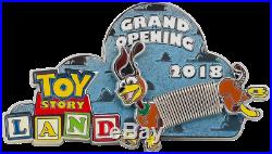 Toy Story Land Grand Opening Disney Movie Rewards Pin Pre-sale