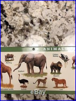 Ultra Rare Disney Sign Prop Ride Animal Kingdom Kilimanjaro Safari Awesome Cond