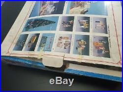 VTG 1988 Disney World Theme Park Magic TOWN SQUARE PLAY SET New Open Box