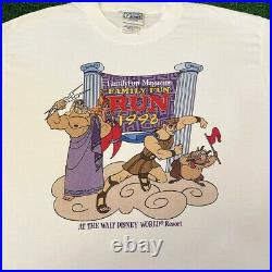 VTG 90s Disney Hercules Movie Theme Park Tee Rare Vintage 1998 Shirt Mens XL