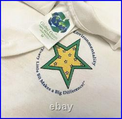 VTG 90s Disney Jiminy Cricket Recycle Rare Vintage Theme Park Shirt Mens Size M