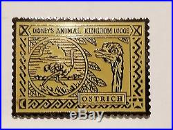 Very Rare Disney Animal Kingdom Lodge 1st First Guest 5 Pin Set