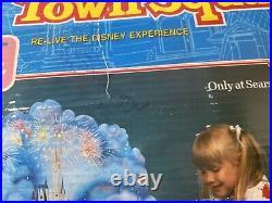 Vintage 1988 Disney World Theme Park Disney Magic TOWN SQUARE PLAY SET