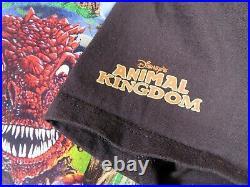 Vintage Disney Countdown To Extinction Theme Park Ride Promotional T Shirt