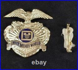 Vintage Rare Disney World Security Hat Badge B