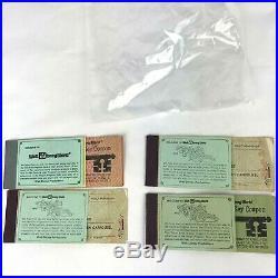 Vintage WALT DISNEY WORLD Magic Key Coupon Book Theme Park Tickets 6 RARE