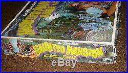 Vintage Walt Disney World HAUNTED MANSION BOARD GAME Theme Park Mystery Game