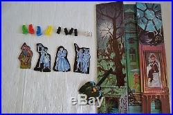 Vintage Walt Disney World HAUNTED MANSION THEME PARK Board Game Toy COMPLETE