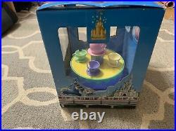 WALT DISNEY WORLD MAD TEA PARTY MONORAIL PLAYSET Theme Park Ed (used)