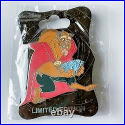 WDI 60th Anniversary Diamond Celebration Beauty And The Beast Disney Pin LE250