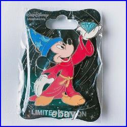 WDI 60th Anniversary Diamond Celebration Sorcerer Mickey Mouse Disney Pin LE250
