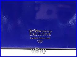 WDI D23 Expo 2017 Exclusive Disney Castle Pin Set With Tinkerbell Pin Le 200