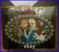 WDI D23 Shopping Day Frozen Cast (Jumbo Pin) LE 300 Disney Pin
