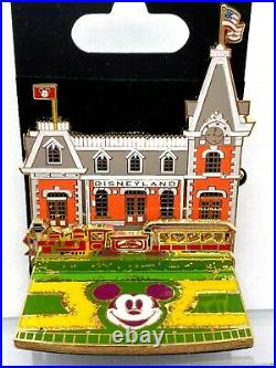 WDI DISNEYLAND MAIN STREET STATION Diorama Pin LE 300 Disney Imagineering Train