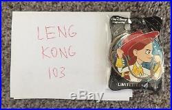 WDI Disney Heroines Pin Set #5 LE 250 Brand New CM Exclusive ship USPS insurance