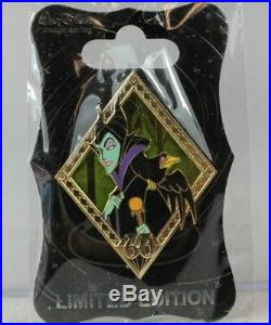 WDI Disney LE 250 Pin 60th Anniversary Sleeping Beauty Diamond Maleficent Diablo