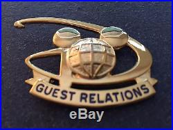 WDP Walt Disney World Guest Relations Mickey Mouse Icon Globe Cast Costume Pin