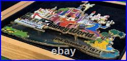 WDW 2006 Retro Walt Disney World Resort Collection Super Jumbo Boxed PIN #47846