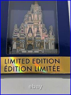 WDW 50th Anniversary Cinderella Castle Walt Disney World LE Jumbo Hinged Pin
