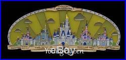 WDW Disney 50th Happiest Celebration on Earth Park Castles Super Jumbo Le Pin