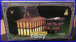 WDW Disney Theme Park Collection POLYNESIAN RESORT MONORAIL PLAYSET NIB