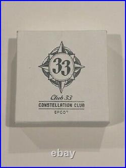 WDW Disney World Club 33 Member EPCOT Constellation Club Pin
