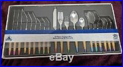Walt Disney Ink and Paint Twenty Piece Flatware Set Colors New With Tag NWT