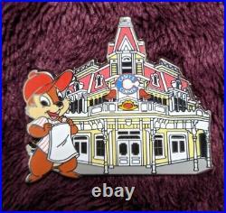 Walt Disney Parks Main Street Magic Mystery Pin Chip Casey's Corner 2016 New