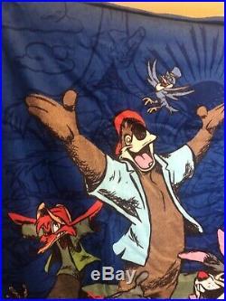 Walt Disney Parks Towel Splash Mountain Br'er Rabbit Bear Frog NWT Never Used