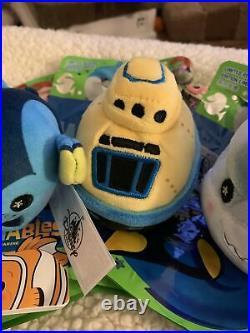 Walt Disney Parks Wishables Finding Nemo Bruce Darla Dory Nemo Full Set RARE