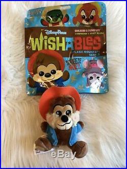 Walt Disney Parks Wishables Splash Mountain Br'er Bear 2019 New With Bag NWT