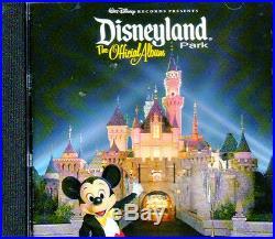 Walt Disney Records Presents DISNEYLAND PARK THE OFFICIAL ALBUM (SOUNDTRACK CD)