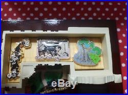 Walt Disney Studios Building Box & Silly Symphony 5 Pin Set Le 200 Figurine Fig