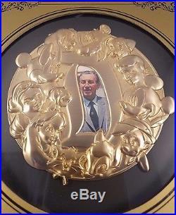 Walt Disney Super Jumbo Disney Pin GenEARation D Walt Disney World Gold Portrait