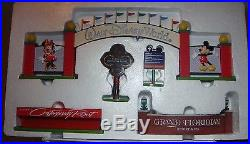 Walt Disney Theme Park Collection Monorail Accessories 5 Resort Signs With box