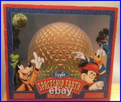 Walt Disney Theme Park Exclusive Epcot Spaceship Earth Monorail PlaysetVintage