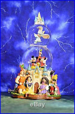 Walt Disney Theme Park Exclusive Musical Parade Double Snowglobe