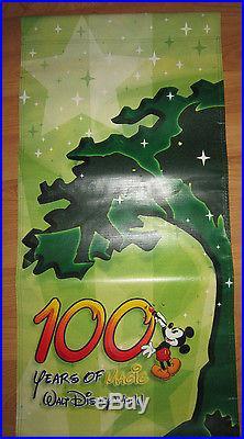 Walt Disney World 100 Years Magic Theme Park Banner Prop Sign Animal Kingdom