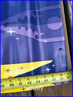 Walt Disney World 100 Years of Magic Theme Park Prop Vinyl Banner Sign 47 x 17