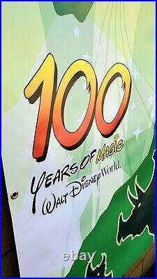 Walt Disney World 100 Years of Magic theme park prop vinyl banner poster sign